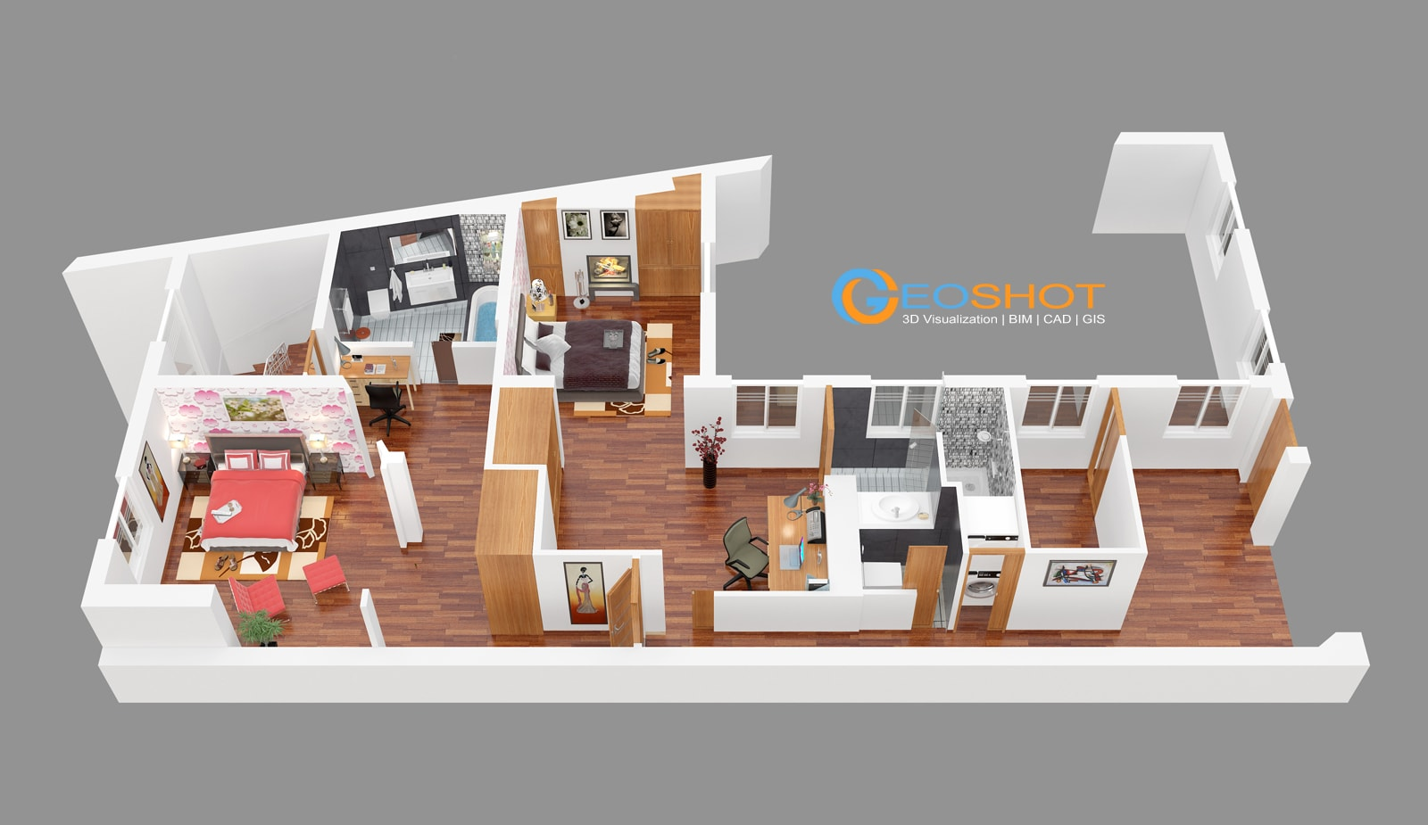 3d floor plans 3d design studio floor plan company for Floor 3d design